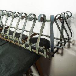 Vintage altankasser udført i bemalet patineret jern i palæ-stil!