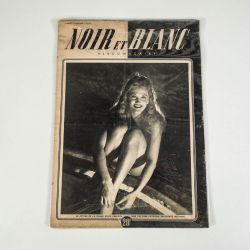 3 stks. franske Noir Et Blanc magasiner fra 1950.