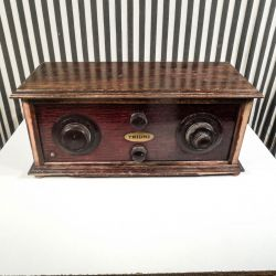 Fineste antikke radiokabinet fra danske Triumf