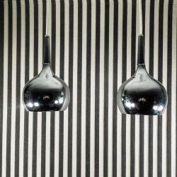 Sølvfarvede designer vintage-pendler fra Hans Agne Jakobsson!