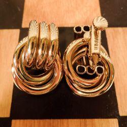 Smukke vintage øre-skruer fra luksus bijouteri-mærket Napier