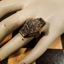 Særdeles smuk vintage ring i bronze fra K.E. Palmberg for Alton.