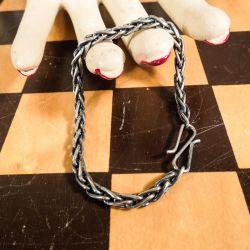 Super sødt vintage sølv armbånd.