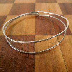 Vintage armbånd i sterling sølv fra Bent Knudsen.