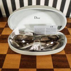 Vintage Christian Dior solbriller i originalt etui