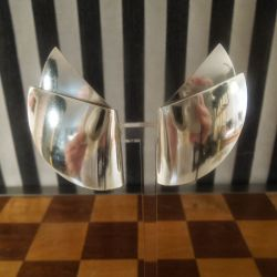 Vintage kæmpe øreclips fra Nanna Ditzel for Georg Jensen