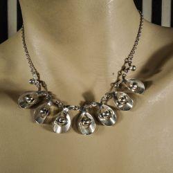 Vintage halskæde fra Herman Siersbøl i sterling sølv