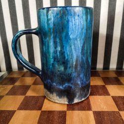 Vintage keramik krus/vase fra Josef Etienne van Wonterghem