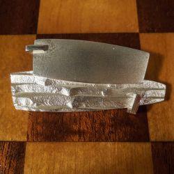 Vintage broche udført i sterling sølv fra finske Lapponia.