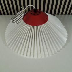 Vintage Le Klint pendel med rød top