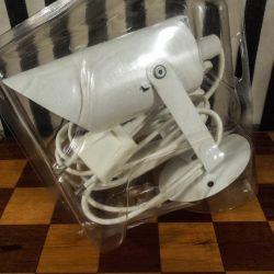 Vintage Pippi væglamper i hvid fra Lyfa i original emballage