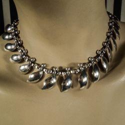 Vintage luksus halskæde fra N.E. From i sterling sølv!