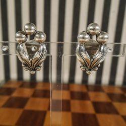 Vintage øreclips fra N.E. From i sterling sølv