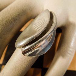 Designer vintage sølv-ring fra Randers Sølvvarefabrik!