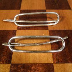 Sæt af de fineste vintage hårspænder i sterling sølv fra Conrad Petersen