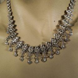 Antik halskæde i sølv!