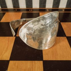 Antik armbånd udført af tretornet sølvske! Flexibel i størrelse.