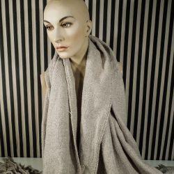 """Kæmpe vintage tørklæde i uld fra det italienske luksusmærke """"Ermenegildo Zegna"""""""